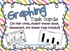 Common Core Aligned GRAPHING Task Cards