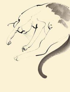 Sleeping cat by Aurore de la Morinerie