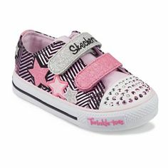 Skechers Twinkle Toes Triple Up Light-Up Shoes - Toddler Girls