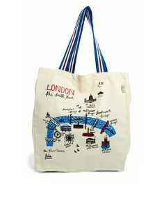 Talented Totes Riverscapes London Large Shopper Bag £12.50
