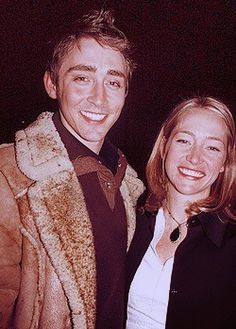 Lee Pace and his sister Sally