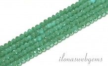 Swarovski style kristal kralen facet rondel ca. 3x2mm(Ha26)
