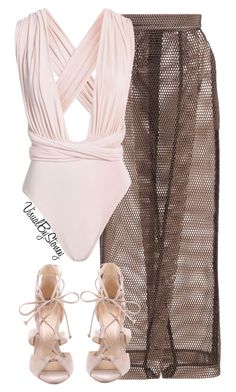 """Untitled #833"" by fashionaffiliated ❤ liked on Polyvore featuring Solace and Schutz"