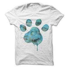Can't keep your paws off your dogs? It's time for a little puppy payback with a whimsical watercolor design. Your dog calls dibs – on you – with their paw print right across your chest. If you look closely you …