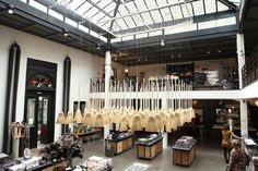 Paris' charitable superstore, Merci, is a completely charitable concept store, with proceeds going to children's charities in Madagascar. Since the end of 2012, more than 900 children have benefitted from a well-balanced meal in paternship with PAM (World Feeding Program) and schools in Ankilimivony, Ankilibory, and Ambola have continued to run thanks to donations from Merci.