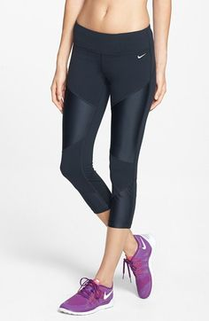 Nike 'Strut' Dri-FIT Crop Tights available at #Nordstrom