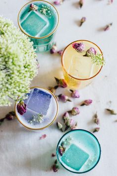 Sweet Honey Rose Cocktail recipe just in time for spring! | bygabriella.co