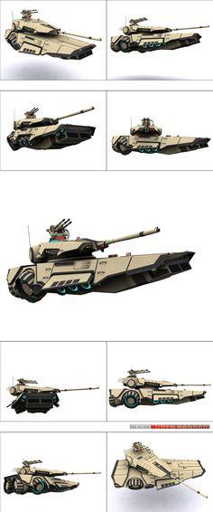 M7A6-H hover tank by WARxSnake on DeviantArt