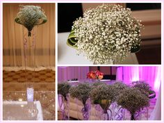 Aisle decoration with baby's breath – Montreal West Island Wedding and Event Florist Wedding Flower Arrangements, Floral Arrangements, Wedding Flowers, Classic White, Classic Style, Gypsophila, Island Weddings, Special Events, Wedding Photos