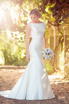 Essense of Australia Wedding Dresses - Search our photo gallery for pictures of wedding dresses by Essense of Australia. Find the perfect dress with recent Essense of Australia photos. Spring 2017 Wedding Dresses, Western Wedding Dresses, Classic Wedding Dress, Sexy Wedding Dresses, Bridal Dresses, Wedding Gowns, Wedding Tips, Beaded Dresses, Timeless Wedding