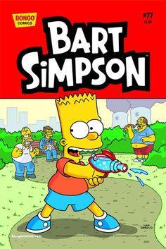 Bart Simpson Comics #77 comic book Bongo Comics
