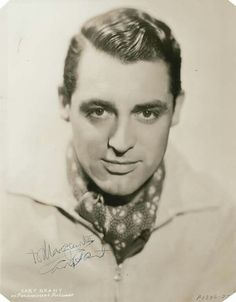 The handsome, Cary Grant