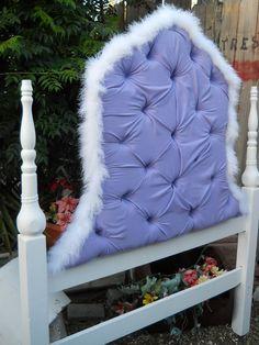 Purple headboard custom twin headboard by PerfectlyGoodStuff, $270.00