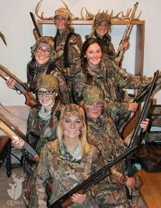 Clemson Univ women's hunting course