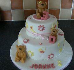 Teddy Bear Cake | Birthday Cakes