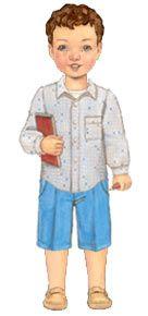 Pattern $15.95 sketchbook shirt + shorts sewing pattern | oliver + s