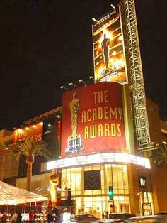 I'd like to go to The Academy Awards someday, preferably as a nominee!