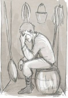 linneart:  wow I almost forgot about this ask! someone requested the scene in crown of midnight where Chaol just started bawling in the broo...