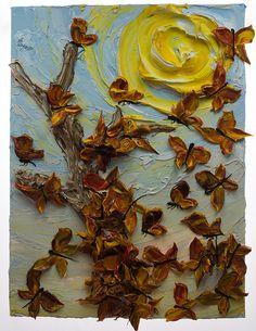 30x40 Butterflies By: Justin Gaffrey