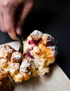berry bread pudding at Sandbox Bakery plus a great list of yummy eateries in SF