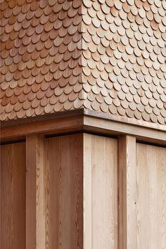 69 new Ideas exterior wood cladding facades architecture Detail Architecture, Timber Architecture, Architecture Posters, Wooden Facade, Timber Cladding, Wooden Textures, Wall Textures, Building Facade, Concrete Building