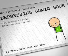 The Explosm Store - Depressing Comic Book