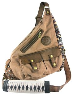 The Walking Dead Michonne Sling...I wants it. :)