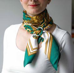 Hermes Les Tuileries scarf