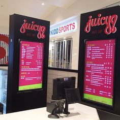 Been working late nights on this #digitalsignage  #avproject. #juice #perth #foodie #smoothies #fruit #veg #perthsbestavcompany #www.weinstallit.com.au #juicyq #perth #foodie