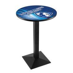 """Holland Bar Stool Pub Table Tabletop Size: 36"""" H x 36"""" W x 36"""" D, NCAA Team: Eastern Illinois"""