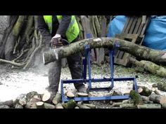 log holder - YouTube
