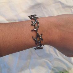 House of Harlow silver antler bracelet House of Harlow silver antler bracelet. Like new. House of Harlow 1960 Jewelry Bracelets