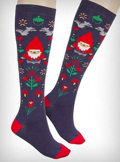 Gnome socks!