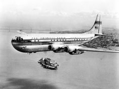 The Boeing 377 Stratocruiser - The Double Deck Plane That Changed The World - Simple Flying Honolulu International Airport, Pan Am, Air And Space Museum, Double Deck, Air Travel, My Collection, Historical Society, Print Pictures, Transportation