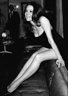 """Mrs. Emma Peel"" of the Avengers"