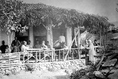 Şeyhli Köyü'nde kahvehane Kartal