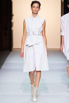 Spring 2013 RTW, Designer: Veronique Leroy, Model: Marlena Szoka