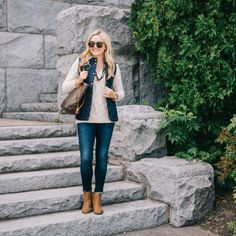 Quilted + Cable Knit