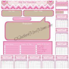 free blog planner Blog Planner, Planner Pages, Life Planner, Printable Planner, Free Printables, Perfect Planner, College Organization, Crazy Life, Free Blog