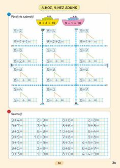 Albumarchívum Math For Kids, Worksheets, Homeschool, Humor, English, Early Education, Picasa, Calculus, Index Cards