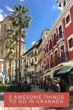 5 Awesome Things to Do In Granada, Spain - Two Feet, One World Grenada Spain, Andalucia Spain, Malaga Spain, Spain And Portugal, Portugal Travel, Spain Travel, Valencia, Europe Travel Tips, Travel Guide