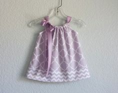 New Baby Girls Lavender Sun Dress  Lavender and by dreambirds