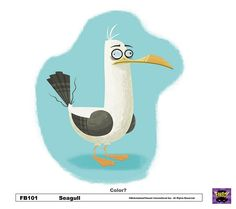 Seagull Concept by Fred Seibert, via Flickr