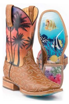 Aloha+Tin+Haul+With+Fish+Tank+Sole+Urban+-+Boots