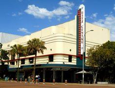 Port Macquarie: Ritz Cinema Historical Sites, Historical Photos, Port Macquarie, Australia Travel, Old Town, Day Trips, Buildings, Scenery, Cinema