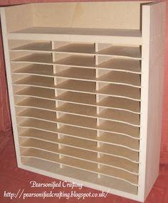 Craft Storage, Stampin Up! Inkpad storage, Ink Pad Storage