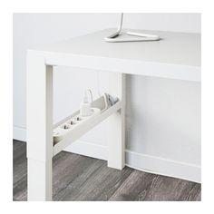 PÅHL Desk, white white 37 3/4x22 7/8