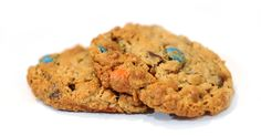 WHAT'S IN A MONSTER COOKIE??  Peanut Butter, Oats, Chocolate Chips & M&M's!
