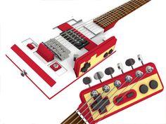 ファミコンモチーフのファミコンギターが超かっこいい! | A!@Atsuhiko Hori Takahashi  (via http://attrip.jp/100307 )
