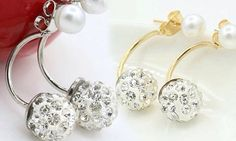 Available in numerous designs and tones, these classic earrings can complement most women's daily outfits